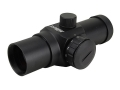Millett Red Dot Sight 30mm Tube 1x 5 MOA Dot with Weaver-Style Rings Matte