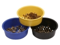 Shell Sorter Brass Sorter 9mm Luger, 40 Smith &amp; Wesson, 45 ACP 3 Bowl Set