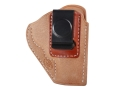 Product detail of El Paso Saddlery EZ Carry Inside the Waistband Holster Right Hand Smith & Wesson J-Frame Leather Natural