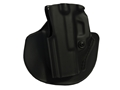 Safariland 5198 Paddle and Belt Loop Holster with Detent Left Hand Glock 26, 27 Polymer Black