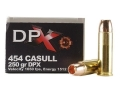Product detail of Cor-Bon DPX Ammunition 454 Casull 250 Grain Barnes XPB Hollow Point Lead-Free Box of 20