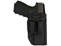 "Comp-Tac Infidel Max Inside the Waistband Holster with Infidel Belt Clip 1-1/2"" Glock 26, 27, 33 Kydex Black"