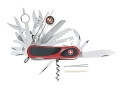 Wenger Swiss Army EvoGrip S 54 Folding Knife 31 Function Swiss Surgical Steel Blades Polymer Scales Red