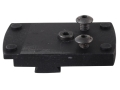 JP Enterprises JPoint Electronic Sight Mount fits Bo-Mar BMCS Rear Sight Cut Aluminum Matte
