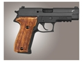 Hogue Fancy Hardwood Grips Sig Sauer P226 Checkered Goncalo Alves