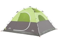 "Coleman Aspenglen 6 Man Instant Dome Tent 120""x 108""x70"" Polyester Black and Green"