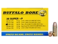 Product detail of Buffalo Bore Ammunition 38 Super +P 124 Grain Full Metal Jacket Box of 20