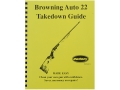 Radocy Takedown Guide &quot;Browning Auto 22&quot;
