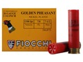 Fiocchi Golden Pheasant Ammunition 28 Gauge 2-3/4&quot; 7/8 oz #7-1/2 Nickel Plated Shot Box of 25