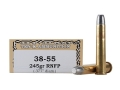 Ten-X Cowboy Ammunition 38-55 WCF 245 Grain Lead Round Nose Flat Point Box of 20