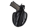 Bianchi 7 Shadow 2 Holster Right Hand Ruger SP101 2.5&quot;, 3&quot;, S&amp;W J-Frame 3&quot; Barrel Leather Black