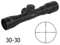 Product detail of Konus Pistol Scope 2x 28mm 30-30 Reticle Matte