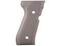 AlumaGrips Grips Beretta 92FS Checkered Aluminum