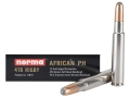 Product detail of Norma African PH Ammunition 416 Rigby 450 Grain Woodleigh Weldcore Soft Nose Box of 10