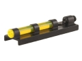 "Williams Fire Sight Ventilated Rib Width 5/16"" Aluminum Black Fiber Optic Yellow"