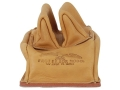 Product detail of Protektor Custom Rabbit Ear Rear Shooting Rest Bag with Heavy Bottom Leather Tan Unfilled