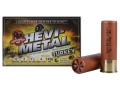 "Hevi-Shot Hevi-Metal Turkey Ammunition 12 Gauge 3"" 1 1/4 oz #4, #6 Hevi-Shot Non-Toxic Box of 5"