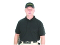 "BlackHawk Warrior Wear Polo Shirt Short Sleeve Cotton Black Small (34"" to 36"")"