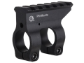 "PRI Gas Block Single Picatinny Rail AR-10, LR-308 Standard Barrel .875"" Inside Diameter Aluminum Matte"