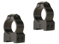 "Warne 1"" Permanent-Attachable Ring Mounts Tikka Gloss Medium"