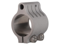 "Vltor Low Profile Gas Block Clamp-On Standard Barrel AR-15, LR-308 .750"" Inside Diameter Stainless Steel"
