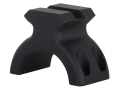 "DNZ Products Freedom Reaper 1"" Ring Top with Picatinny-Style Accessory Rail Matte"