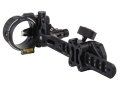 "T.R.U. Ball Axcel ArmourTech Vision HS Pro 7-Pin Bow Sight .010"" Pin Diameter Aluminum Black"