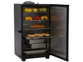 "Masterbuilt 30"" 4-Tray Digital Electric Smoker Steel Black"