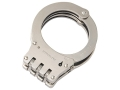 Safariland 8122 Standard Hinge Handcuffs Steel Nickel Finish
