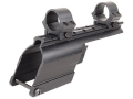 B-Square Shotgun Saddle Mount with 1&quot; Rings Maverick 91 12 Gauge Matte
