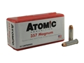 Atomic Ammunition 357 Magnum 158 Grain Bonded Jacketed Hollow Point Box of 50