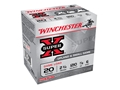 "Winchester Super-X Game Load Ammunition 20 Gauge 2-3/4"" 7/8 oz #6 Shot"
