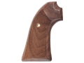 Hogue Cowboy Grips Ruger Bisley Checkered Walnut