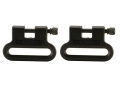 The Outdoor Connection Brute Sling Swivels 1&quot; Polymer Black (1 Pair)