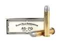 Black Hills Cowboy Action Ammunition 45-70 Government 405 Grain Lead Flat Nose Box of 20