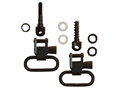"GrovTec Sling Swivel Set Savage 99 Sling Swivel Studs 1"" Locking Swivels Steel Black"