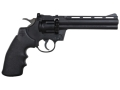 Crosman 357 Air Pistol 177 Caliber Black Polymer Grips Blue Barrel