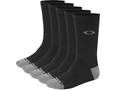 Oakley Performance Basic Crew Socks Black 5 Pairs