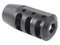 "Product detail of PRI Muzzle Brake Quiet Control 5/8""-24 Thread AR-10, LR-308 Steel Matte"