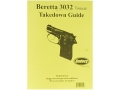 "Product detail of Radocy Takedown Guide ""Beretta 3032 Tomcat"""