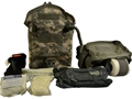 Military Surplus Individual First Aid Kit (IFAK)  ACU Digital Camo
