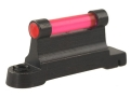 "NECG Ruger Front Ramp Replacement Front Sight .415"" Height Steel Blue 3/32"" Fiber Optic Red"