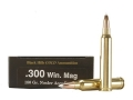 Black Hills Gold Ammunition 300 Winchester Magnum 180 Grain Nosler AccuBond Box of 20