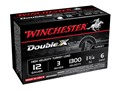 "Winchester Double X Turkey Ammunition 12 Gauge 3"" 1-3/4 oz #6 Copper Plated Shot Case of 100 (10 Boxes of 10)"