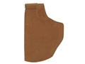 Galco Stow-N-Go Inside the Waistband Holster Right Hand Ruger LCP with Crimson Trace Laserguard Leather Brown
