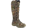 "Irish Setter VaprTrek 17"" Waterproof Uninsulated Snake Boots Nylon and Leather Brown and Realtreee Xtra Green Camo Men's"