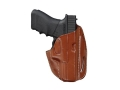 Hunter 2800 3-Slot Pancake Holster Right Hand S&W 4006 Leather Brown