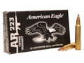 Federal American Eagle Ammunition 223 Remington 50 Grain Tipped Varmint Box of 20