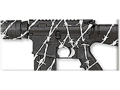 Product detail of Lauer DuraCoat EasyWay Camo Stencil Kit Only Barbed Wire