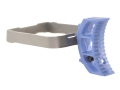 STI Trigger STI-2011, SVI Long Curved Body Polymer Blue with Stainless Steel Bow